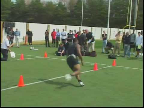 Jamal Lewis ProDay #4 Georgia Tech CB/Safety
