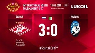 Spartak - Atalanta (U-17) 3:0