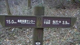 初期中山道を行く 牛首峠と牛首塚 (辰野町)   〝Ushikubi Pass and Ushikubi mound〝.Nakasendo road