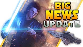 BIG NEWS UPDATE: Lightsaber Changes, More Maps Hinted, Full Patch Notes - Battlefront 2