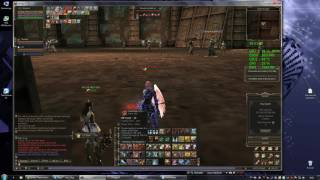 Lineage 2 Grand Crusade (Chronos) Titan Solo at Giant Cave lower 30min EXP