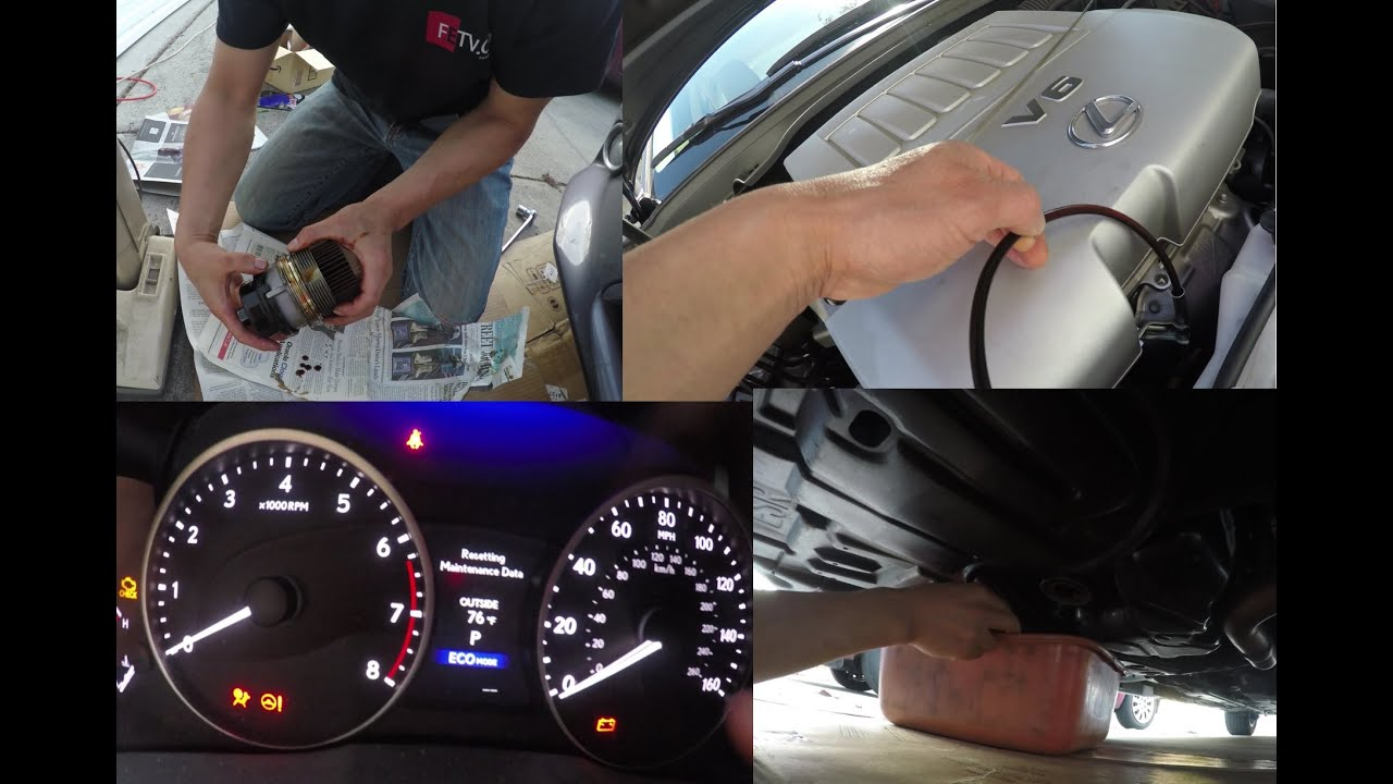 Easiest Way To Change Lexus ES350 Oil and Filter - YouTube