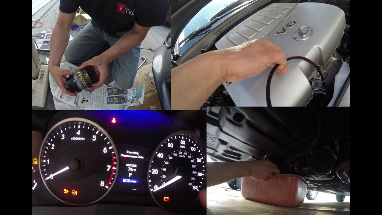Easiest Way To Change Lexus ES350 Oil and Filter