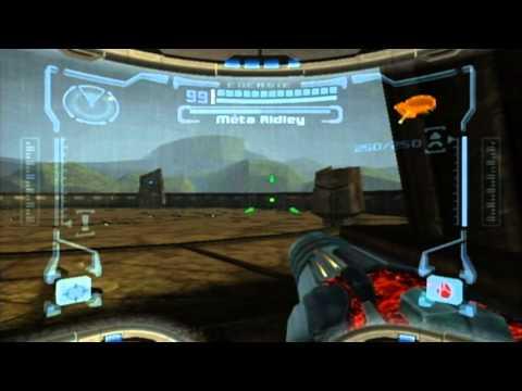 Metroid Prime Boss 5 : Meta Ridley (no damage, hypermode)