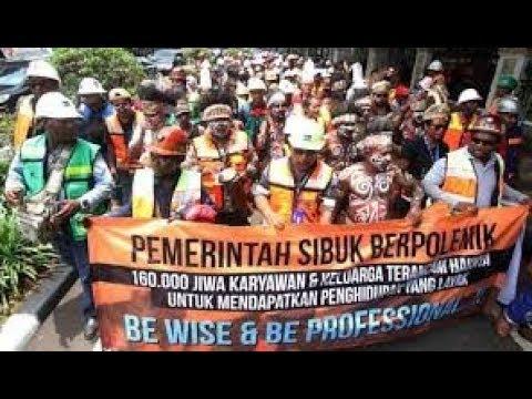 Debat Sengit ! Freeport PHK Ribuan Karyawan 2019
