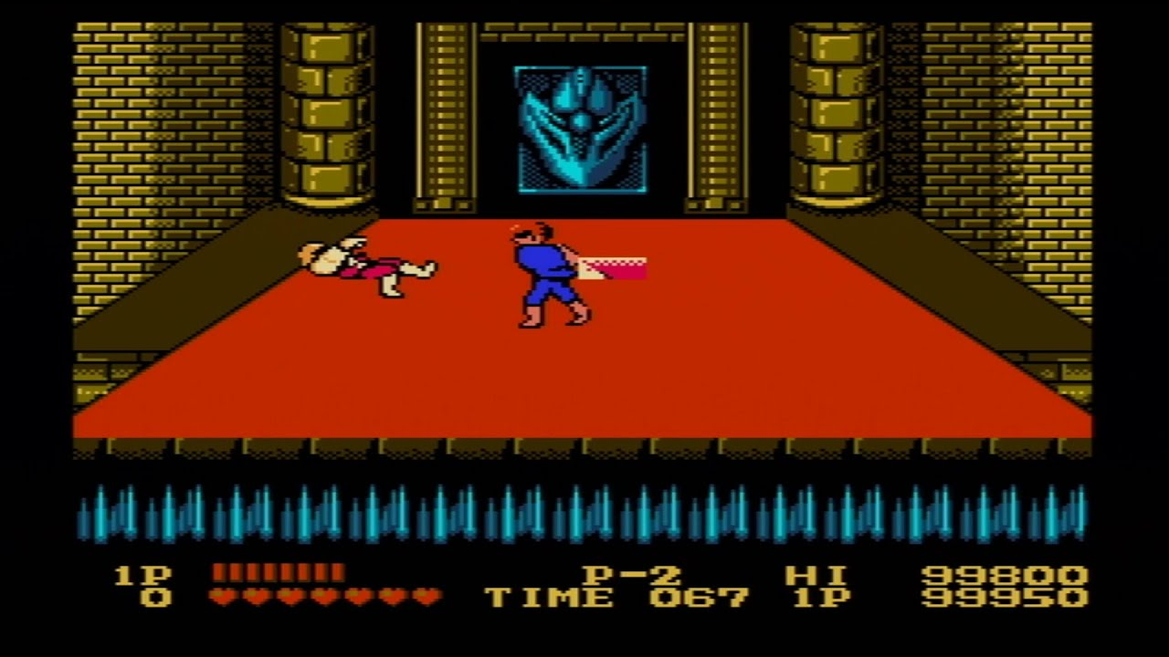 Double Dragon Beat The Game With Magical Glitches Nes Youtube
