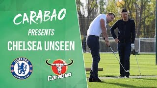 Chelsea unseen: featuring john terry with justin rose, marcos alonso and much more!
