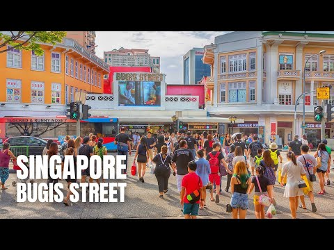 Bugis Street Singapore to Orchard Road Singapore Travel Guide【2019】