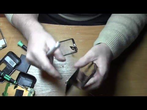 HTC Wildfire s A510e Замена сенсора