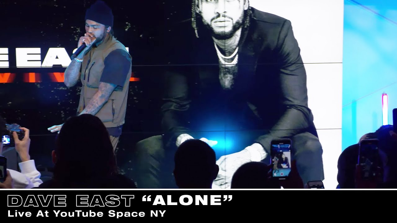 Dave East - Alone (Live At YouTube Space NY)