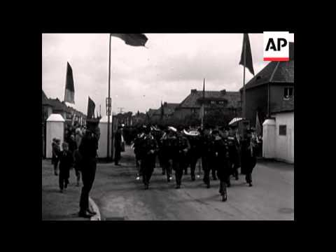 DISMISSION OF SOVIET TROOPS IN THE EAST ZONE OF GERMANY - NO SOUND