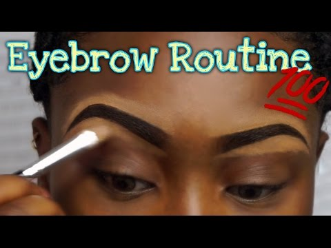 Step By Step Eyebrow Makeup Tutorial