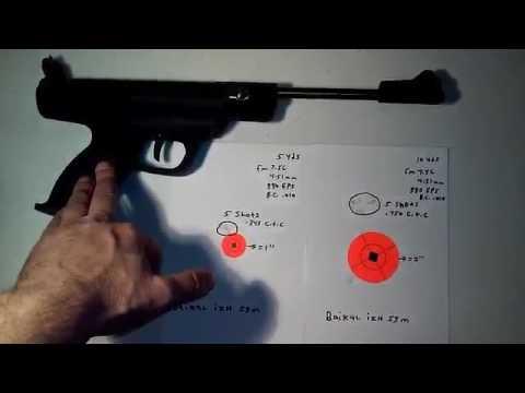 Baikal izh 53M - worlds easiest cocking spring pistol