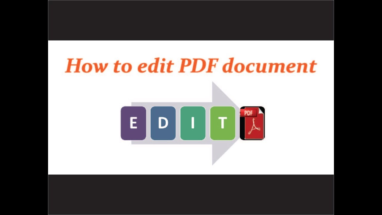 software to edit pdf documents free