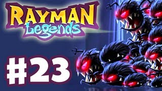 Rayman Legends - Gameplay Walkthrough Part 23 - Hell Breaks Loose (PS3, Wii U, Xbox 360, PC)