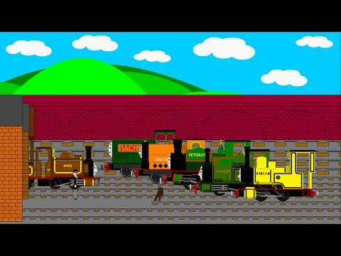 THOMAS AND FRIENDS ANIMATED SPECIAL - BLUE MOUNTAIN RESCUE (VISION 2)