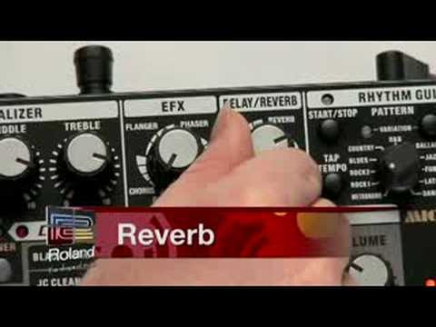 Roland MICRO CUBE RX Amp Overview