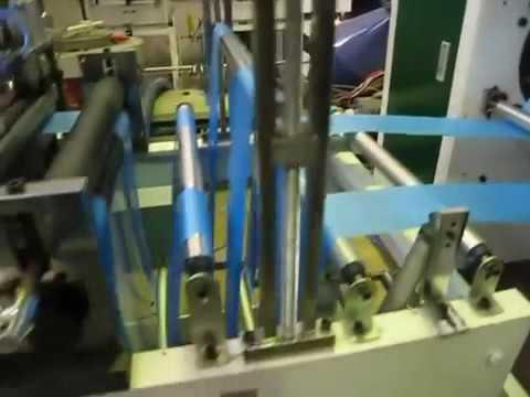 GT-250*2 Garbage Rolling Bag Making Machine