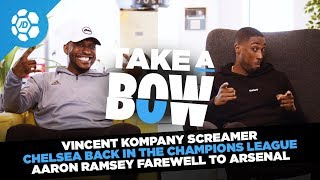 Vincent Kompany Screamer, Chelsea In The Champions League, Aaron Ramsey Farewell | Take a Bow