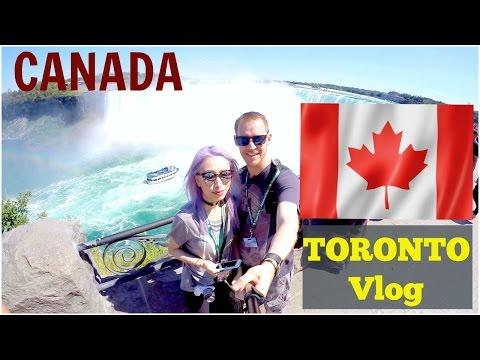 Canada Travel | Toronto Vlog | Niagara Falls, Tim Hortons, CN Tower, Beaver Tail, meeting Youtuber