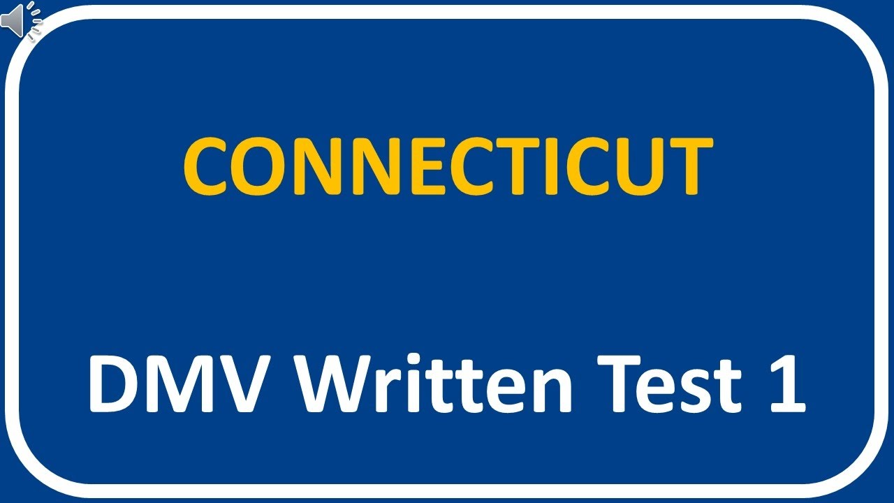 dmv driver license test ct