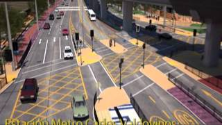 Corredor transporte público Vicuña Mackenna Norte, tramo Av. Matta - - Vicente Valdés