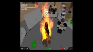 i was burnt on roblox