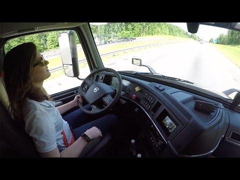 Volvo VNR Regional Truck Test Drive