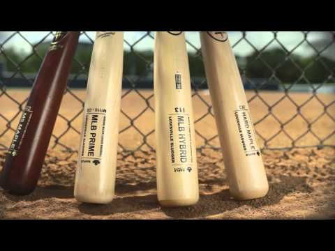 Louisville Slugger Labs: MLB Prime Maple Baseball Bats