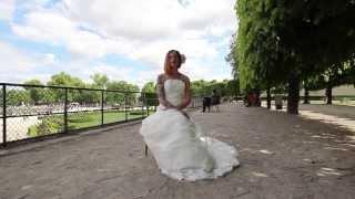 Красивая свадьба для двоих в Париже