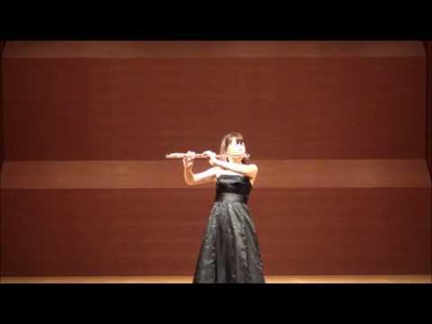 Isang Yun / Etude No.5 (Flute:Yoshie Ueno) イサン・ユン / エチュードより第5番 (フルート:上野由恵)