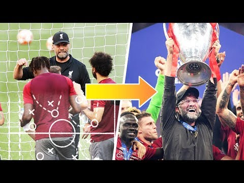 Jurgen Klopp's incredible strategy to win the Champions League - Oh My Goal