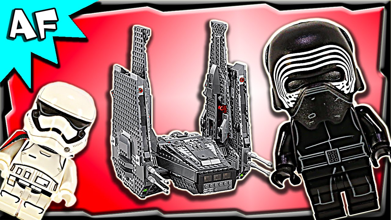 Lego Star Wars Kylo Rens Command Shuttle 75104 Stop Motion Build 75157 Captain Rexamp039s At Te Review Youtube