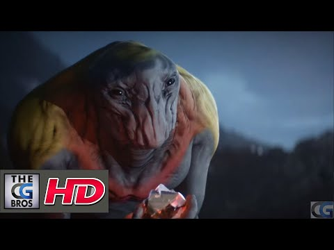 """CGI 3D Animated Short """"Sputnik"""" - by Maxim Zhestkov"""