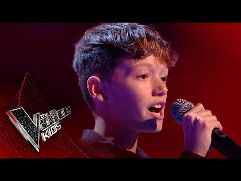Thumbnail: Lewis performs 'Cry Me Out': Blinds 3 | The Voice Kids UK 2017