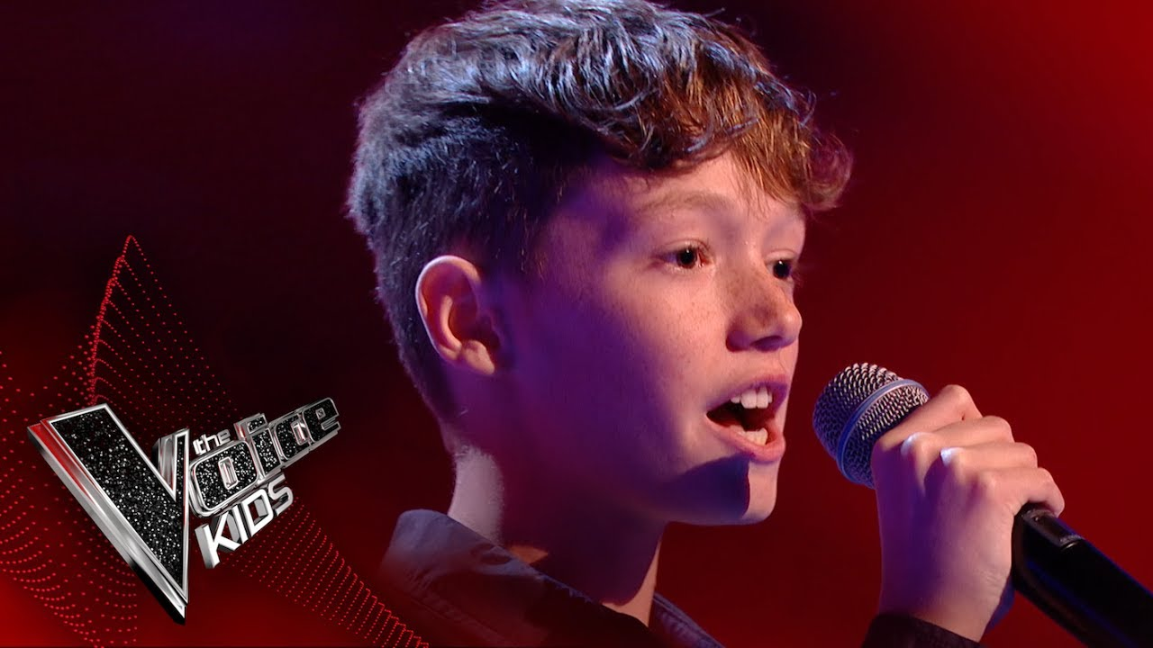Lewis performs 'Cry Me Out': Blinds 3 | The Voice Kids UK ...