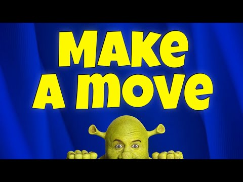 Shrek Make a move / karaoke instrumental