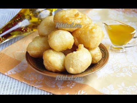 Греческие пончики Лукумадес  Пошаговый рецепт с фото