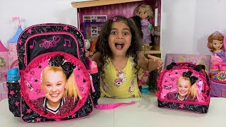 SURPRISING Sally WITH JOJO SIWA Backpack!!
