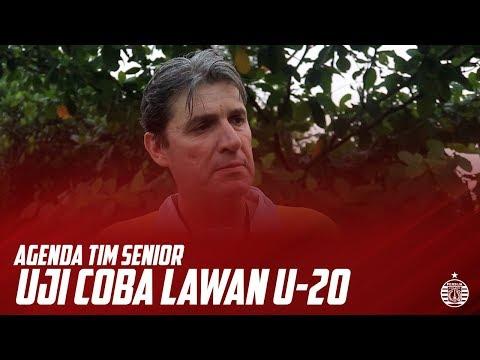 Agenda Uji Coba Tertutup Tim Senior Melawan Tim Persija U-20