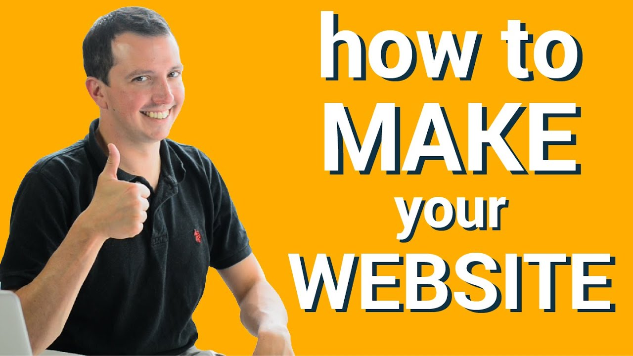 How to Make a Website - Free & Under  7 minutes