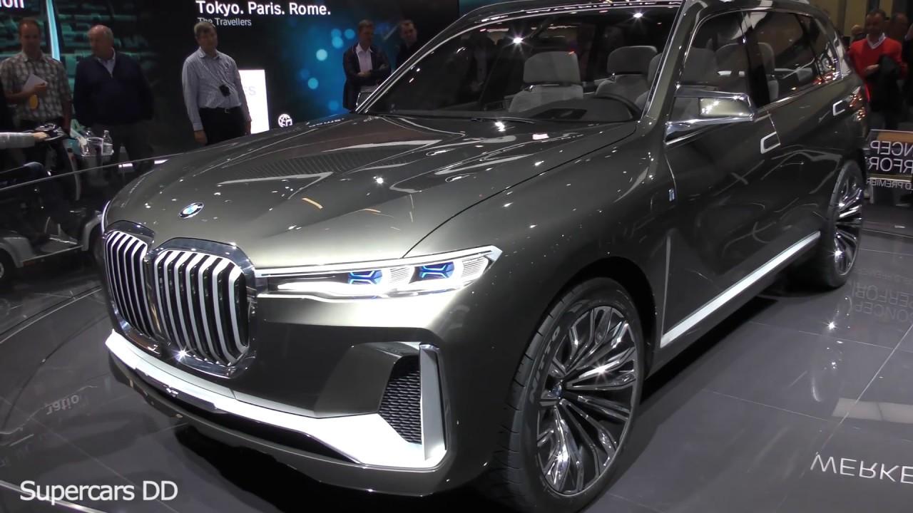 Bmw X7 Futuristic Hybrid Jeep Concept 4k Supercars Dd