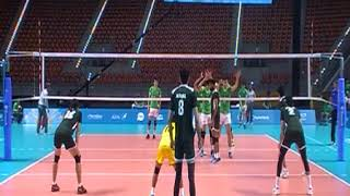 Pakistan Vs Turkmenistan Volleyball Match 4th Islamic Soldiers Game Azerbaijan 2017