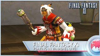 FFXI Live Stream - Geas Fate (Schah Fight)