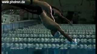 Start Video Biomechanik - Sport / Startsprung Schwimmer