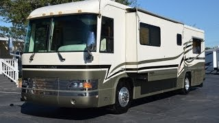 SOLD!!!!: 2001 Country Coach Magna 36' Slide Model