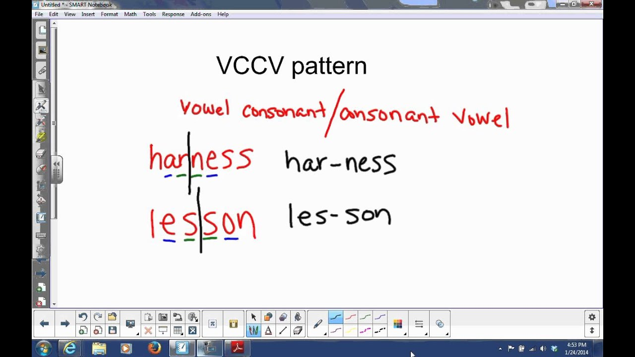 Worksheets Vccv Pattern Worksheets vccv pattern youtube pattern