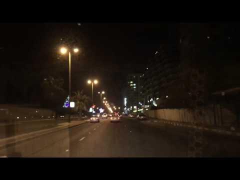 Marine drive (seaside) kuwait salmiya late night roam #kuwait