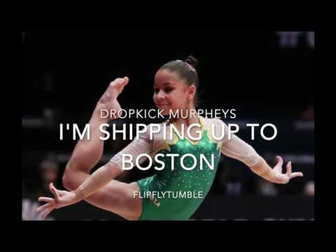 I'm Shipping Up to Boston Irish Dance Gymnastics Floor Music