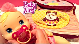 Baby Alive Luv n Snuggle Doll and What's in My Diaper Bags!